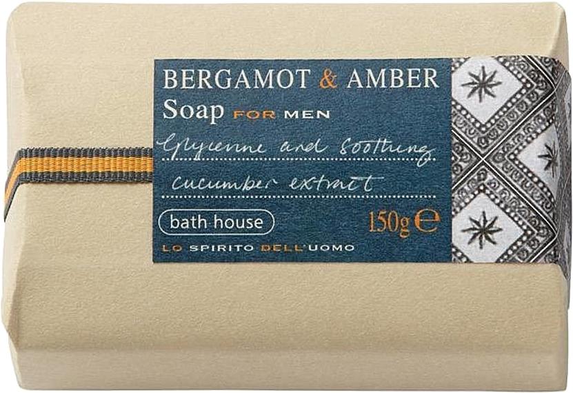 Bath House Bergamot & Amber - Мыло