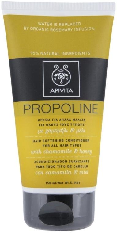 Кондиционер для всех типов волос с ромашкой и медом - Apivita Propoline Hair Softening Conditioner