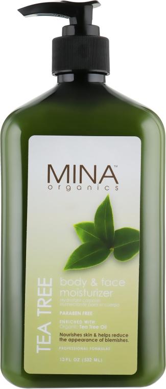 Молочко после загара с пантенолом, заживляющее - Malibu Mina Tea Tree