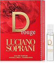 Духи, Парфюмерия, косметика D Rouge Luciano Soprani - Парфюмированная вода (пробник)