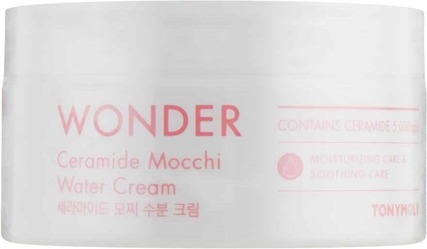 Увлажняющий крем для лица с керамидами - Tony Moly Wonder Ceramide Mocchi Water Cream