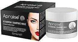 Духи, Парфюмерия, косметика Прозрачный воск для укладки бровей - Apraise Eyebrow Shaping Wax