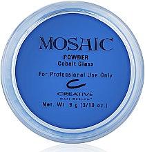 """Духи, Парфюмерия, косметика Акриловая пудра для ногтей """"Cobalt Glass"""", голубая - CND Mosaic Powder Kit"""
