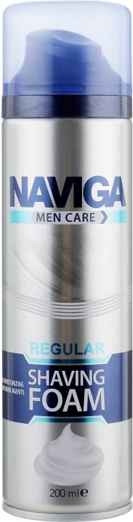 """Пена для бритья """"Regular"""" - Naviga Men Care Shawing Foam"""