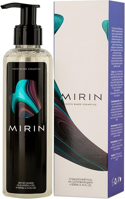 Очищающий гель для лица с муцином улитки - MIRIN Mucin Based Cleansing Gel