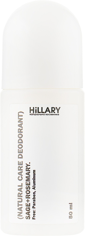 Натуральный дезодорант для тела - Hillary Natural Care Deodorant Sage + Rosemary
