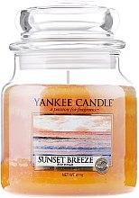 Духи, Парфюмерия, косметика Свеча в стеклянной банке - Yankee Candle Sunset Breeze