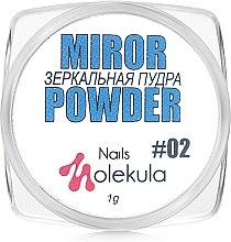 Духи, Парфюмерия, косметика Зеркальная пудра для ногтей - Nails Molekula Nails Mirror Powder