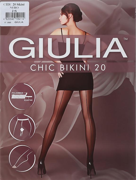 "Колготки для женщин ""Chic Bikini"" 20 den, nero - Giulia"