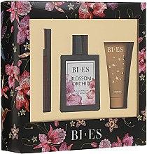 Духи, Парфюмерия, косметика Bi-Es Blossom Orchid - Набор (edp/100ml + sg/gel/50ml + parfum/12ml)