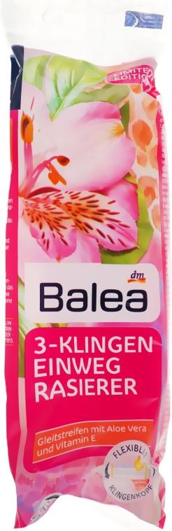 Одноразовые женские станки для бритья - Balea 3-KlingenEinweg Rasierer
