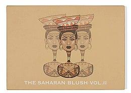Духи, Парфюмерия, косметика Палетка румян для лица - Juvia's The Saharan Blush Palette Vol II