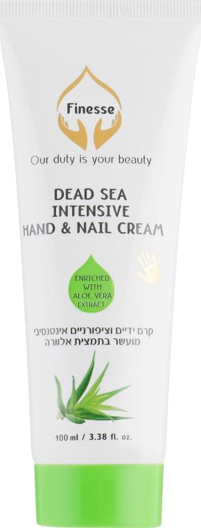 Интенсивный крем для рук и ногтей с экстрактом алоэ - Finesse Intensive Hand & Nail Cream