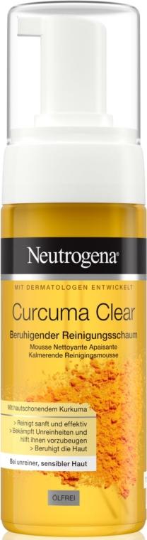 Пенка для умывания с экстрактом куркумы - Neutrogena Curcuma Clear Mousse Clenser