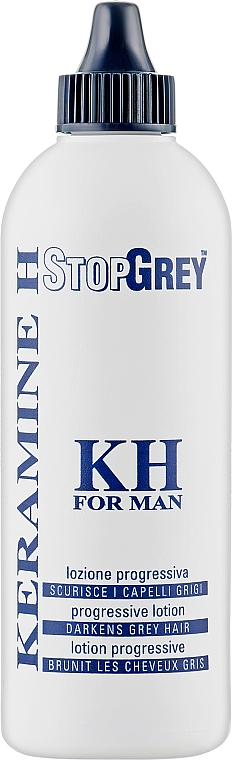 Лосьйон проти сивого волосся - Keramine H Stopgrey — фото N1