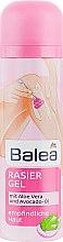 Духи, Парфюмерия, косметика Гель для бритья с алоэ вера и авокадо - Balea Rasier Gel Mit Aloe Vera und Avocado