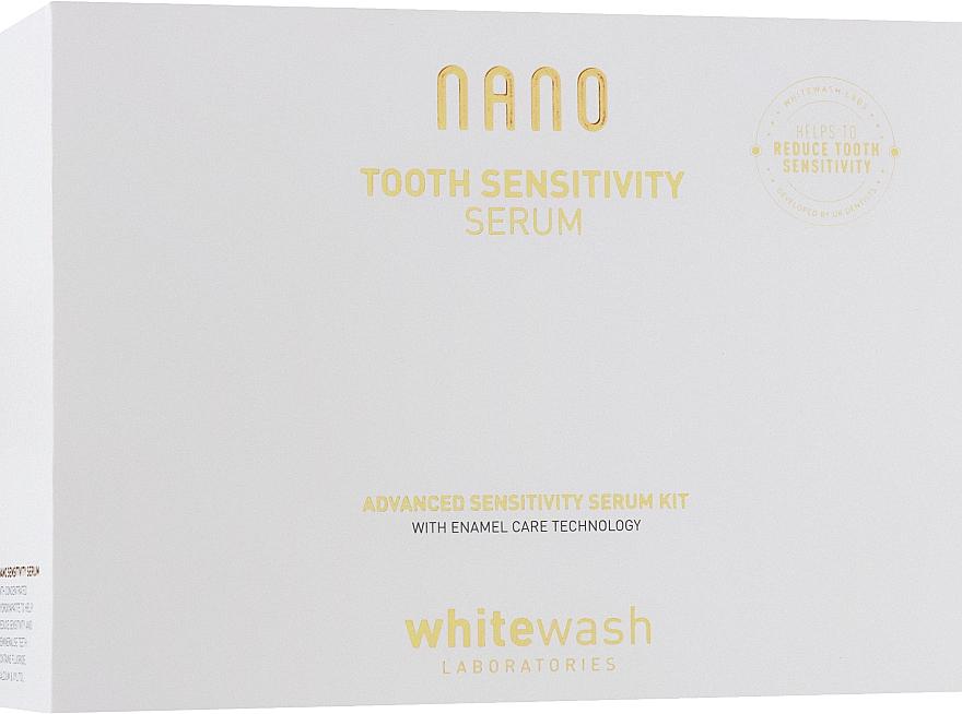 Набор для чувствительных зубов - WhiteWash Laboratories Nano (tooth serum/30 ml + mouth tray) — фото N1
