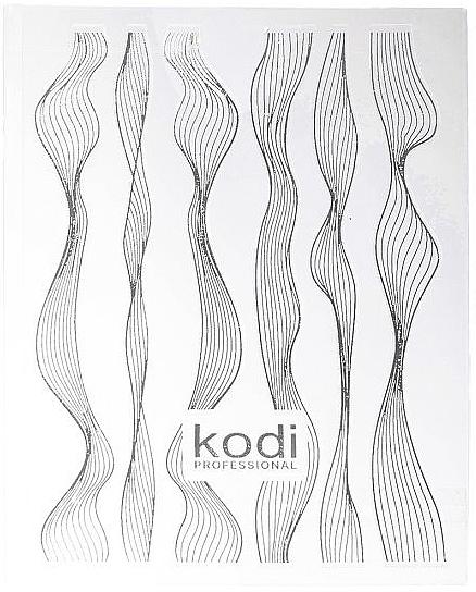 """Наклейка для 3D дизайна ногтей """"Гибкие нити"""" - Kodi Professional"""