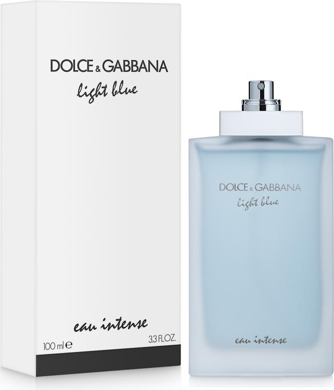 Dolce&Gabbana Light Blue Eau Intense - Парфумована вода (тестер без кришечки) — фото N2