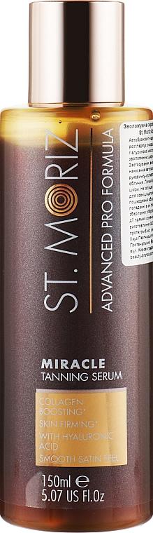 Увлажняющая сыворотка-автобронзант с гиалуроновой кислотой - St.Moriz Advanced Pro Formula Miracle Tanning Serum