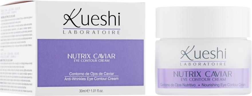 Крем для глаз c экстрактом черной икры - Kueshi Nutrix Caviar Contorno De Ojos Caviar