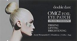 Духи, Парфюмерия, косметика Патчи для зоны вокруг глаз - Double Dare OMG! Foil Eye Patch Pearl Treatment