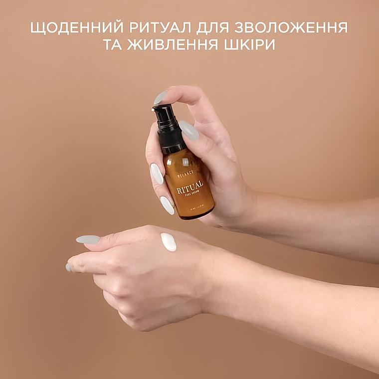 Крем для лица увлажняющий с гиалуроновой кислотой и маслом макадамии - Relance Hyaluronic Acid +Macadamia Oil Face Cream — фото N4