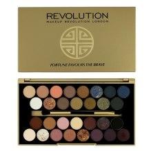 Духи, Парфюмерия, косметика Палетка теней для век, 30 оттенков - Makeup Revolution Palette Fortune Favours The Brave
