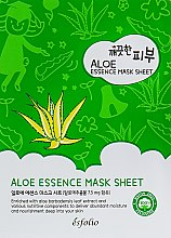 Духи, Парфюмерия, косметика Тканевая маска c алоэ - Esfolio Pure Skin Aloe Essence Mask Sheet
