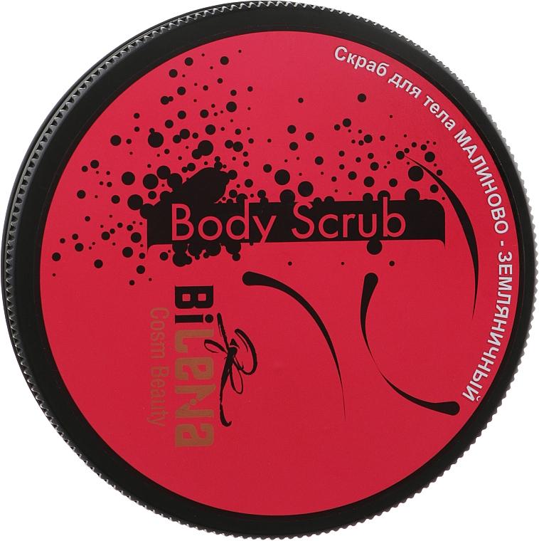 Скраб для тела малиново-земляничный - Bilena Body Scrub