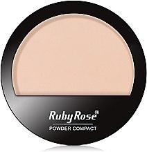 Духи, Парфюмерия, косметика Пудра компактная для лица, HB-7206 - Ruby Rose Powder Compact