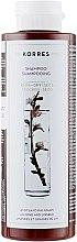 Духи, Парфюмерия, косметика Шампунь для сухих и поврежденных волос - Korres Almond & Linseed Shampoo