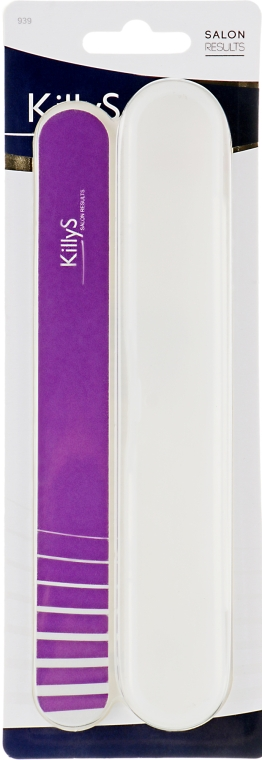 Пилка в футляре, фиолетовая - Killys — фото N1