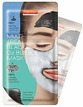 Духи, Парфюмерия, косметика Маска очищающая кислородная - Purederm Multi-Area Black O2 Bubble Mask