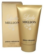 Духи, Парфюмерия, косметика Paco Rabanne Lady Million - Гель для душа