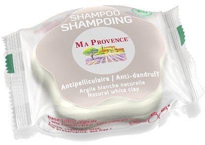"Твердый биошампунь против перхоти ""Белая глина"" - Ma Provence Shampoo"