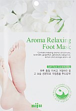 Духи, Парфюмерия, косметика Расслабляющая арома-маска для ног - Konad Aroma Relaxing Foot Mask