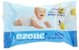 Духи, Парфюмерия, косметика Влажные салфетки для детей с экстрактом ромашки - Ozone