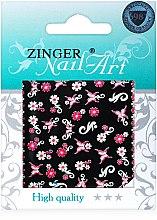 Духи, Парфюмерия, косметика Наклейки для дизайна ногтей, fda-231 - Zinger Nail Art Sticker
