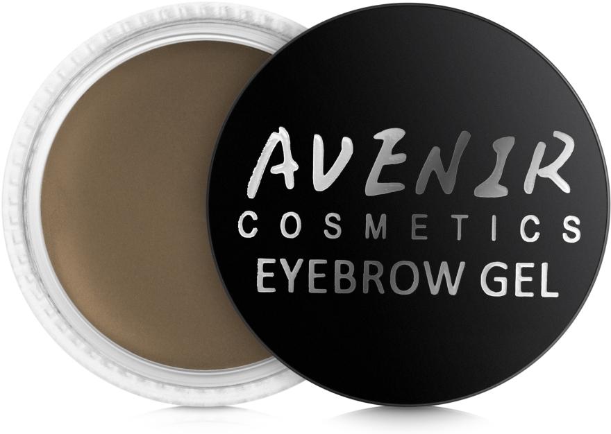 Помада для бровей - Avenir Cosmetics Premium Eyebrow Gel