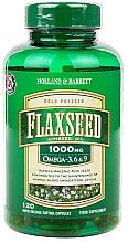 Духи, Парфюмерия, косметика Альфа-линоленовая кислота - Holland & Barrett Flaxseed Linseed Oil 1000mg