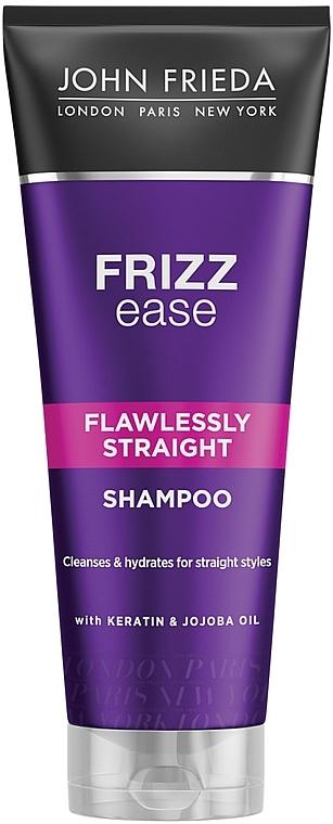 Шампунь выпрямляющий для волнистых, вьющихся и непослушных волос - John Frieda Frizz-Ease Flawlessly Straight Shampoo