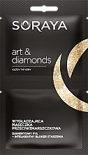 Духи, Парфюмерия, косметика Маска для лица - Soraya Art&Diamonds Face Mask 40+