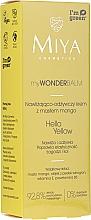 Духи, Парфюмерия, косметика Увлажняющий и питательный крем для лица с маслом манго - Miya Cosmetics My Wonder Balm Hello Yellow Face Cream