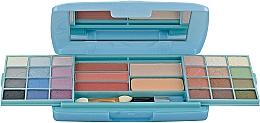 Духи, Парфюмерия, косметика Косметический набор, HB-2542BL - Ruby Rose Deluxe Beauty Make Up Kit
