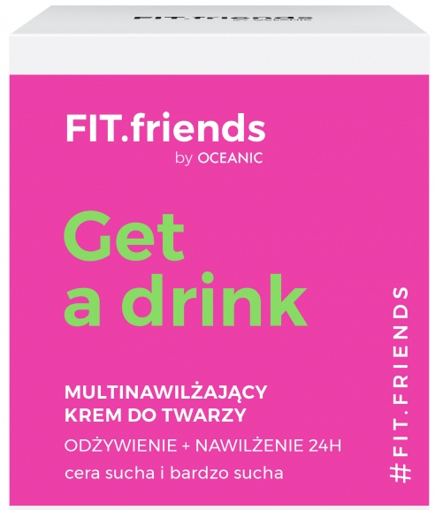 Мульти-крем для лица - AA Cosmetics Fit.Friends Get a Drink Cream — фото N1