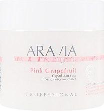 Духи, Парфюмерия, косметика Скраб для тела с гималайской солью - Aravia Professional Organic Pink Grapefruit