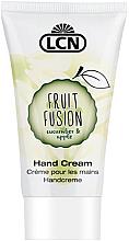 """Духи, Парфюмерия, косметика Крем для рук """"Огурец и яблоко"""" - LCN Fruit Fusion Hand Cream Cucumber & Apple"""