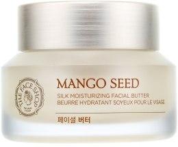 Духи, Парфюмерия, косметика Шелковый крем-баттер для лица с увлажняющим эффектом - The Face Shop Mango Seed Silk Moisturizing Facial Butter