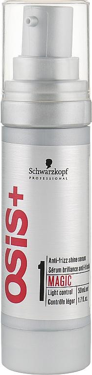 Сыворотка для придания блеска волосам - Schwarzkopf Professional Osis+ Magic Anti-Frizz Shine Serum